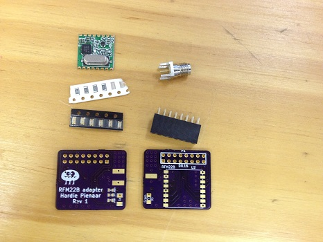 Boards arrived from Oshpark